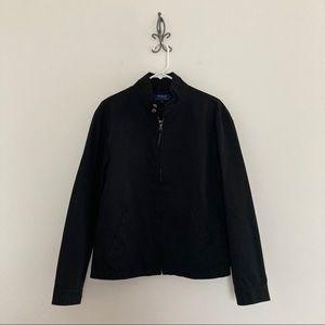 Polo Ralph Lauren Black Lightweight Jacket Size S